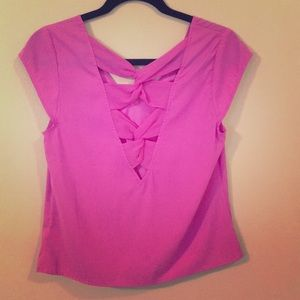Express Cut-Out Blouse, barely worn!